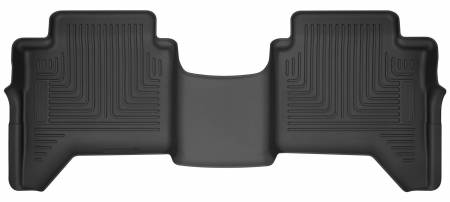 Husky Liners - Husky Liners 2019 Ford Ranger SuperCrew WeatherBeater 2nd Row Black Floor Liners