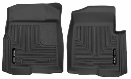 Husky Liners - Husky Liners 09-12 Ford F-150 Series Reg/Super/Crew Cab X-Act Contour Black Floor Liners