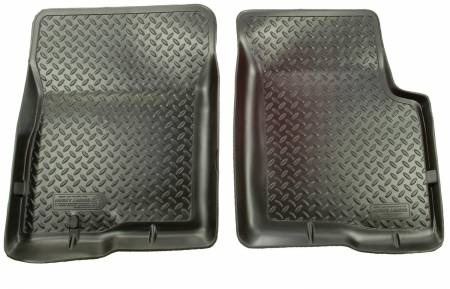Husky Liners - Husky Liners 80-91 Chevy Blazer/GMC Jimmy (2DR/4WD)/Suburban Classic Style Black Floor Liners