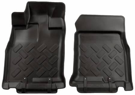 Husky Liners - Husky Liners 11-12 Toyota FJ Cruiser Classic Style Black Floor Liners (Auto Trans.)