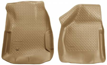 Husky Liners - Husky Liners 00-07 Ford F Series SuperDuty Reg./Super/Super Crew Cab Classic Style Tan Floor Liners