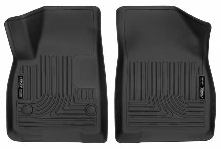 Husky Liners - Husky Liners 17-18 Cadillac XT5/17-18 GMC Acadia 2nd Row Bench X-Act Contour Black Front Floor Liner