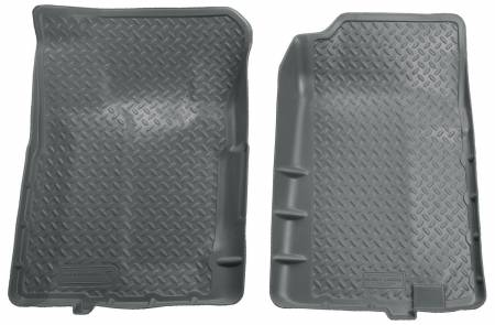 Husky Liners - Husky Liners 92-94 Chevy Blazer/GMC Yukon Full Size (2DR) Classic Style Gray Floor Liners