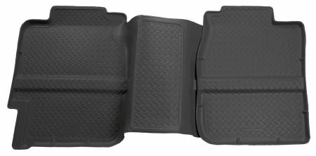 Husky Liners - Husky Liners 99-06 Chevy Silverado/GMC Sierra (All Ext. Cab) Classic Style 2nd Row Black Floor Liner