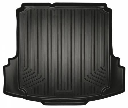 Husky Liners - Husky Liners 2012 Volkswagen Jetta WeatherBeater Black Trunk Liner