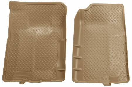 Husky Liners - Husky Liners 92-94 Chevy Blazer/GMC Yukon Full Size (2DR) Classic Style Tan Floor Liners