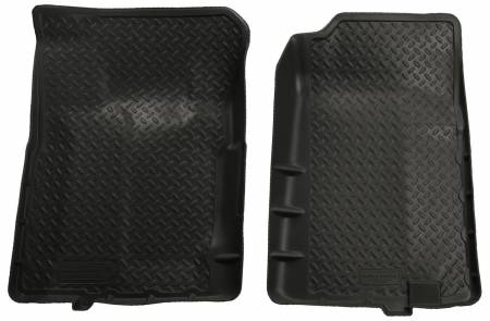 Husky Liners - Husky Liners 92-94 Chevy Blazer/GMC Yukon Full Size (2DR) Classic Style Black Floor Liners