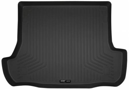 Husky Liners - Husky Liners 10-12 Toyota 4Runner WeatherBeater Black Rear Cargo Liner (Folded 3rd Row)