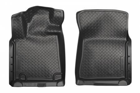 Husky Liners - Husky Liners 2012 Toyota Tundra/Sequoia Classic Style Black Floor Liners
