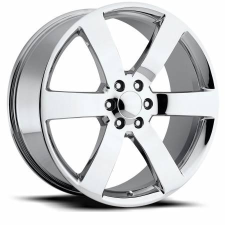Factory Reproductions Wheels - FR Series 32 Replica Tahoe Wheel 22X9 6X5.5 ET22 78.1CB Chrome