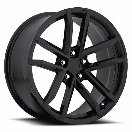 Factory Reproductions Wheels - FR Series 41 Replica Camaro Wheel 20X8 5X120 ET27 66.9CB Gloss Black