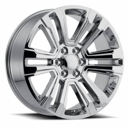 Factory Reproductions Wheels - FR Series 72 Replica Denali Wheel 24X10 6X5.5 ET30 78.1CB Chrome