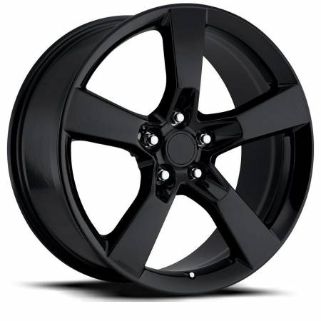 Factory Reproductions Wheels - FR Series 30 Replica Camaro SS Wheel 20X9 5X120 ET40 66.9CB Gloss Black