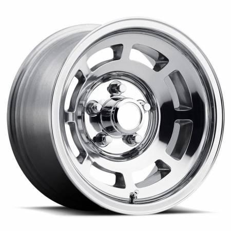Factory Reproductions Wheels - FR Series 23 Replica YJ8 Corvette Wheel 15X8 5X4.75 ET-13 71.3CB Polished