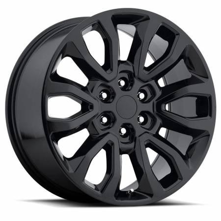 Factory Reproductions Wheels - FR Series 53 Replica Ford Raptor Wheel 20X9 6X135 ET30 87CB Gloss Black