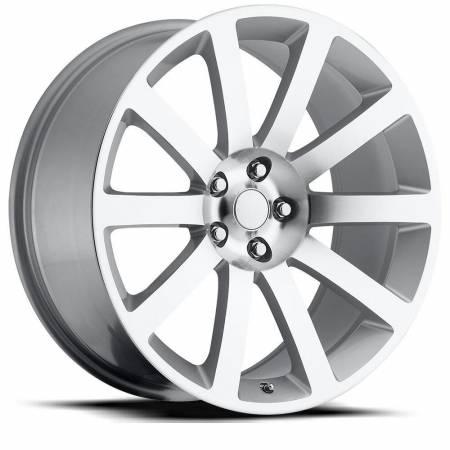Factory Reproductions Wheels - FR Series 65 Replica Chrysler 300 Wheel 22X9 5X115 ET18 71.5CB Silver Machine Face