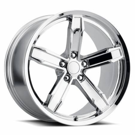 Factory Reproductions Wheels - FR Series Z10 Replica Iroc Wheel 20x10 5X120 ET20 66.9CB Chrome