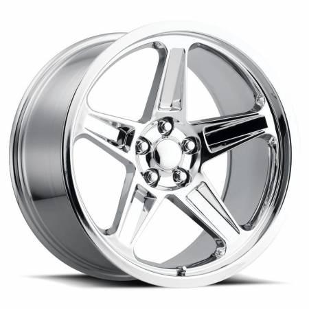 Factory Reproductions Wheels - FR Series 73 Replica SRT Demon Wheel 20X10.5 5X115 ET22 71.5CB Chrome