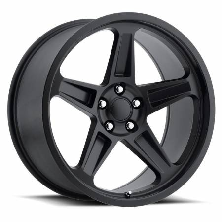 Factory Reproductions Wheels - FR Series 73 Replica SRT Demon Wheel 20X10.5 5X115 ET22 71.5CB Satin Black