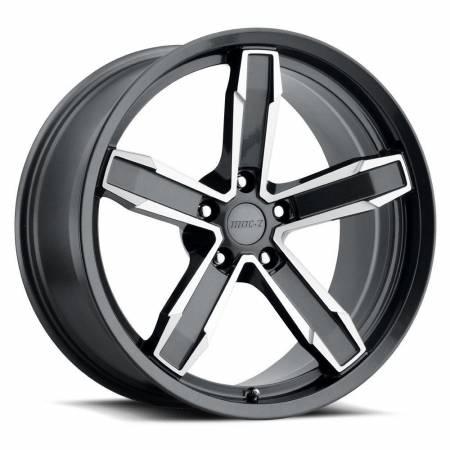 Factory Reproductions Wheels - FR Series Z10 Replica Iroc Wheel 20x10 5X120 ET20 66.9CB Grey Machine Face
