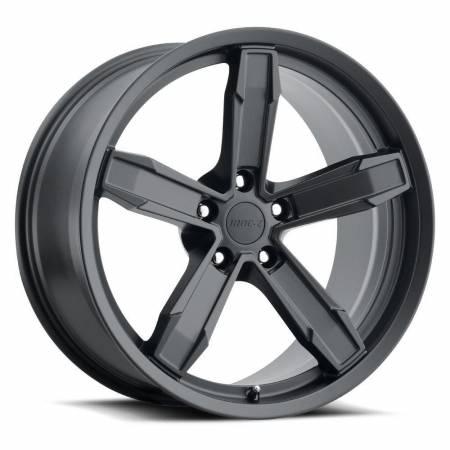 Factory Reproductions Wheels - FR Series Z10 Replica Iroc Wheel 20x11 5X120 ET43 66.9CB Satin Black