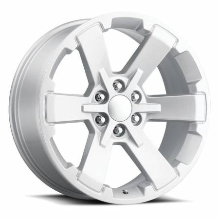 Factory Reproductions Wheels - FR Series 45 Replica 6 Star Wheel 24X10 6X5.5 ET30 78.1CB Silver