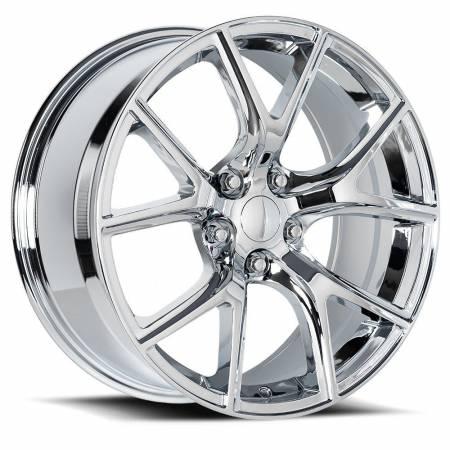 Factory Reproductions Wheels - FR Series 75 Replica Trakhawk Wheel 20X10 5X5 ET50 71.5CB Chrome