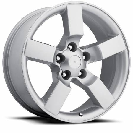 Factory Reproductions Wheels - FR Series 50 Replica Ford Lightning Wheel 20X9 5X5.5 ET8 87CB Silver