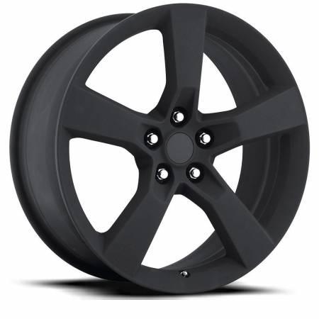 Factory Reproductions Wheels - FR Series 30 Replica Camaro SS Wheel 20X9 5X120 ET40 66.9CB Satin Black