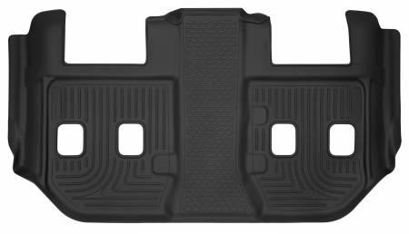 Husky Liners - Husky Liners 15 Cadillac Escalade ESV / Chevy Suburban X-Act Contour Black 3rd Row Floor Liners