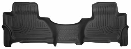 Husky Liners - Husky Liners 15-17 Cadillac Escalade ESV X-Act Contour Black Floor Liner (2nd Seat)