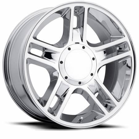 Factory Reproductions Wheels - FR Series 51 Replica F-150 Harley Wheel 20X9 5X135/5X5.5 ET14 87CB Chrome