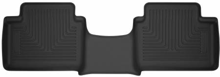 Husky Liners - Husky Liners 2019 Ford Ranger Super-Cab X-Act Contour Black Floor Liner (2nd Seat)