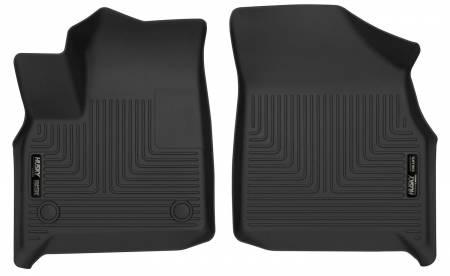 Husky Liners - Husky Liners 2018+ Chevrolet Traverse / 2018+ Buick Enclave X-Act Contour Black Front Floor Liners