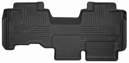 Husky Liners - Husky Liners 09-14 Ford F-150 SuperCab X-Act Contour Black 2nd Seat Floor Liner (Full Coverage)