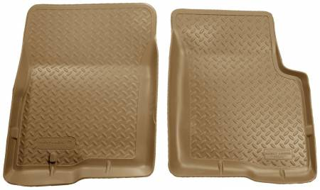 Husky Liners - Husky Liners 04-08 Ford F-150 (Reg/Super/Super Crew)/Lincoln Mark LT Classic Style Tan Floor Liners