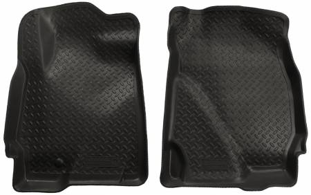 Husky Liners - Husky Liners 05-08 Ford Escape (Base/Hybrid)/Mazda Tribute Classic Style Black Floor Liners