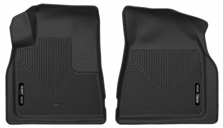 Husky Liners - Husky Liners 08-15 Buick Enclave / 07-15 GMC Acadia X-Act Contour Black Front Seat Floor Liners
