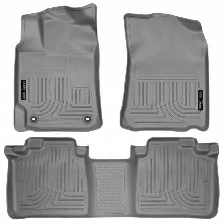 Husky Liners - Husky Liners 2012 Toyota Camry WeatherBeater Combo Gray Floor Liners