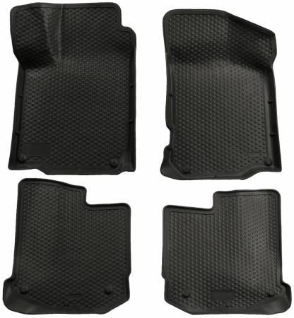 Husky Liners - Husky Liners 98-09 Volkswagen Beetle/00-05 Jetta/Golf Classic Style Front Black Floor Liners