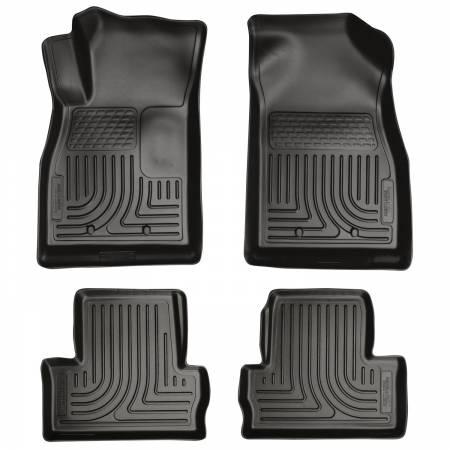 Husky Liners - Husky Liners 11-12 Chevrolet Volt WeatherBeater Combo Black Floor Liners