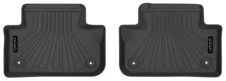 Husky Liners - Husky Liners 2019 Audi Q5 MOGO Black Second Row Floor Liners