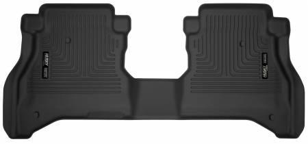 Husky Liners - Husky Liners 2020 Jeep Gladiator Crew Cab X-Act Contour Black Floor Liner (2nd Seat)