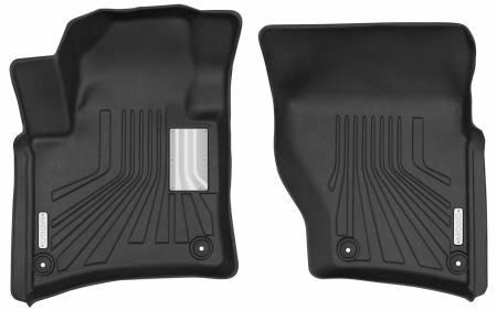 Husky Liners - Husky Liners 2011-2018 Porsche Cayenne Mogo Black Front Row Floor Liners