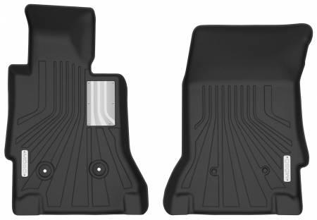 Husky Liners - Husky Liners 14-19 Chevrolet Corvette Mogo Black Front Floor Liners
