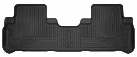Husky Liners - Husky Liners 14-18 Toyota Highlander X-Act Contour Black Floor Liners (2nd Seat)
