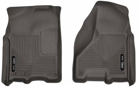 Husky Liners - Husky Liners 09-17 Dodge Ram 1500 Crew Cab X-Act Contour Cocoa Front Floor Liners (A/T Only)