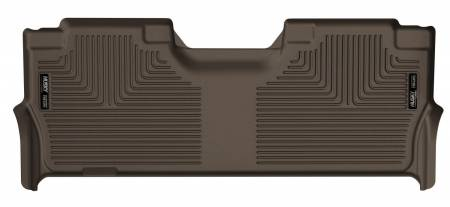 Husky Liners - Husky Liners 2017 Ford F-250 Super Duty Crew Cab X-Act Contour Cocoa 2nd Seat Floor Liner