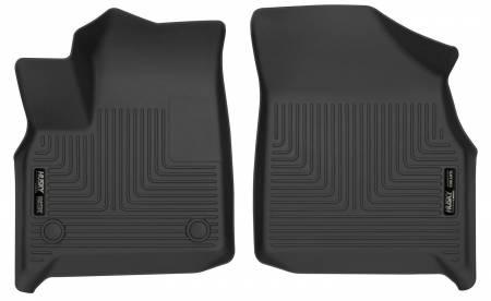 Husky Liners - Husky Liners 2018 Buick Enclave WeatherBeater Black Front Floor Liners