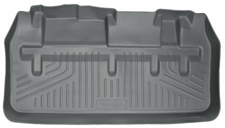 Husky Liners - Husky Liners 11-12 Toyota Sienna WeatherBeater Gray Rear Cargo Liner (w/Man. Storing 3rd Row Seats)
